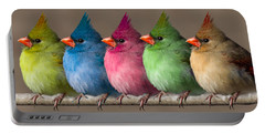 Colored Chicks Portable Battery Charger