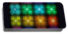 Colored Lights Portable Battery Charger