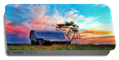 Colored Sunrise Portable Battery Charger