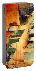 Colorful Abstract Portable Battery Charger