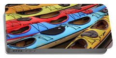 Colorful Alaska Kayaks Portable Battery Charger