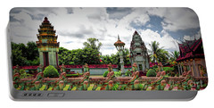 Colorful Architecture Siem Reap Cambodia  Portable Battery Charger