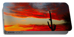 Colorful Arizona Sunset Portable Battery Charger