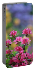 Colorful Azaleas Montage Portable Battery Charger by Mike Reid