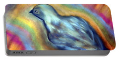 Colorful Bird On Deck Portable Battery Charger