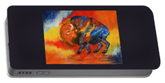 Colorful Bison Portable Battery Charger