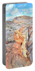 Colorful Boulder At Valley Of Fire Portable Battery Charger