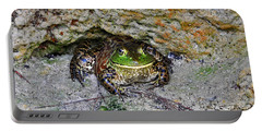 Portable Battery Charger featuring the photograph Colorful Camo by Al Powell Photography USA