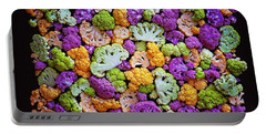 Colorful Cauliflower Mosaic Portable Battery Charger