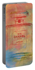Colorful Chanel Five Portable Battery Charger
