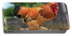 Colorful Chicken Portable Battery Charger