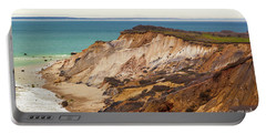 Colorful Clay Cliffs On The Vineyard Portable Battery Charger