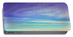 Portable Battery Charger featuring the photograph Colorful Clouds by Jonny D