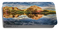 Portable Battery Charger featuring the photograph Colorful Colorado - Panorama by OLena Art Brand