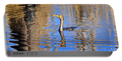 Portable Battery Charger featuring the photograph Colorful Cormorant by Al Powell Photography USA