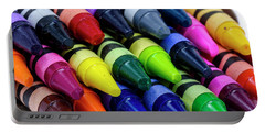 Colorful Crayons Portable Battery Charger