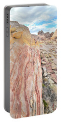 Colorful Crest In Valley Of Fire Portable Battery Charger
