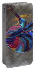 Colorful Dancer Portable Battery Charger