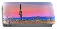 Colorful Desert Portable Battery Charger