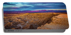 Colorful Desert Sunrise Portable Battery Charger