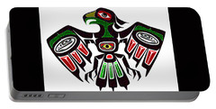 Colorful Eagle Symbol Portable Battery Charger