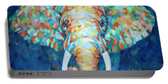 Colorful Elephant Portable Battery Charger