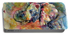 Colorful Elephant II Portable Battery Charger