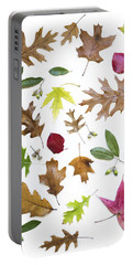 Colorful Fall Leaves Portable Battery Charger