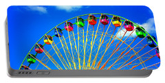 Colorful Ferris Wheel Portable Battery Charger