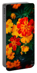 Portable Battery Charger featuring the photograph Colorful Flowers by Silvia Ganora