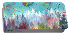 Colorful Forest 4 Portable Battery Charger
