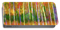 Colorful Forest Abstract Portable Battery Charger