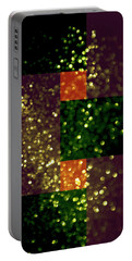 Colorful Geometric Abstract 3 Portable Battery Charger