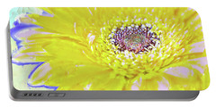Colorful Gerbera Portable Battery Charger