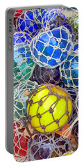 Colorful Glass Balls Portable Battery Charger