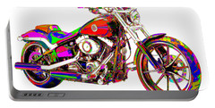 Colorful Harley-davidson Breakout Portable Battery Charger