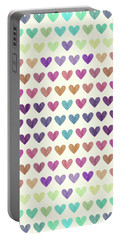 Colorful Hearts IIi Portable Battery Charger