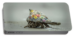 Colorful Hermit Crab Portable Battery Charger
