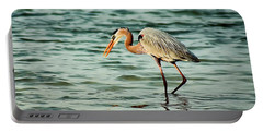 Colorful Heron Portable Battery Charger