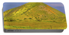Portable Battery Charger featuring the photograph Colorful Hill by Marc Crumpler