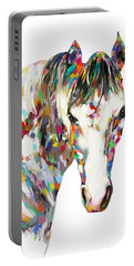 Colorful Horse Portable Battery Charger