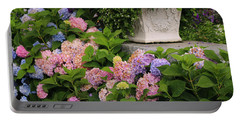 Colorful Hydrangea Portable Battery Charger