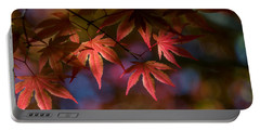 Colorful Japanese Maple Portable Battery Charger