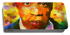 Colorful Jay Z Palette Knife Portable Battery Charger