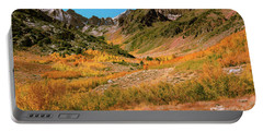 Portable Battery Charger featuring the photograph Colorful Mcgee Creek Valley by John Hight