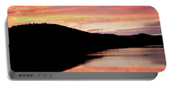 Colorful Midsummer Sunset Portable Battery Charger