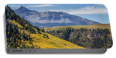 Colorful Mountains Near Telluride Portable Battery Charger