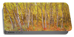 Portable Battery Charger featuring the photograph Colorful Nature Forest Countryside by James BO Insogna