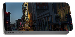 Colorful Night On Gay Street Portable Battery Charger
