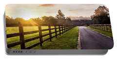 Portable Battery Charger featuring the photograph Colorful Palette At Sunrise by Shelby Young